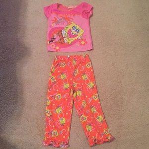 kids spongebob pajamas on poshmark